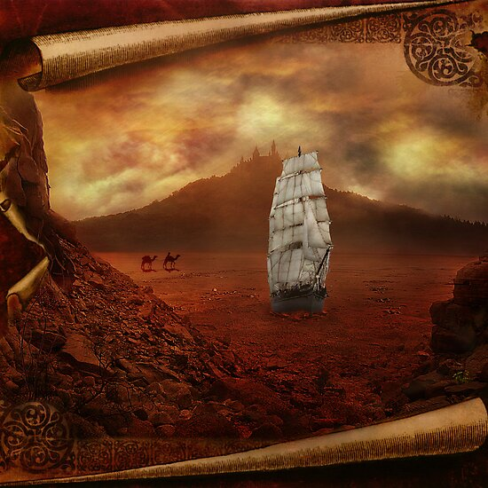 Ships in the Desert by Sarah Moore