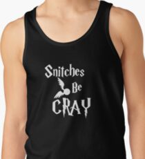Snitches be cray - Golden Snitch Potter Tank Top
