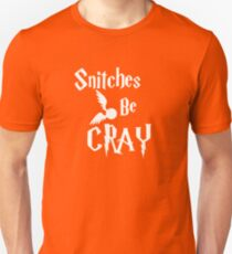 Snitches be cray - Golden Snitch Potter Unisex T-Shirt