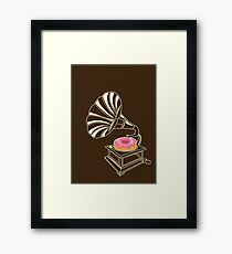 Play that Donut Framed Print