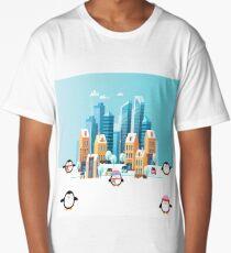 Penguin City Fun Time Long T-Shirt