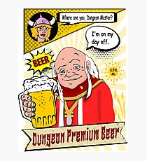 Dungeon Master - beer Photographic Print