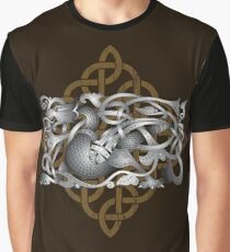 Celtic Dragon Graphic T-Shirt
