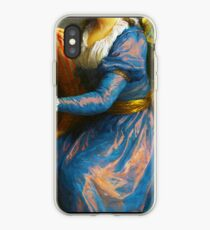 Altes gekürztes Bild der historischen Mode alter Mode iPhone-Hülle & Cover