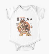 Bowserzilla Short Sleeve Baby One-Piece