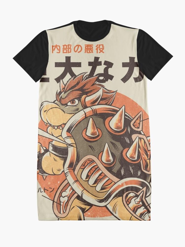 Alternate view of Bowserzilla Graphic T-Shirt Dress