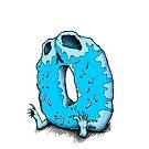 death by donut – blue von darklightillu