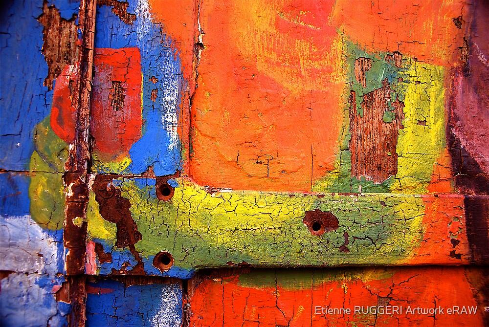 Crusty Painted Door by Etienne RUGGERI Artwork