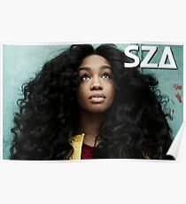 SZA Poster