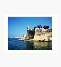 Lookout Tower - Malta Art Print