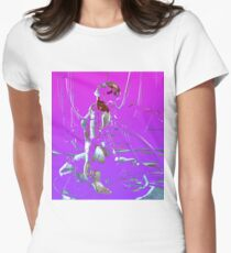 Ghost in the Shell Women's Fitted T-Shirt