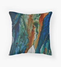 Coastlines Throw Pillow