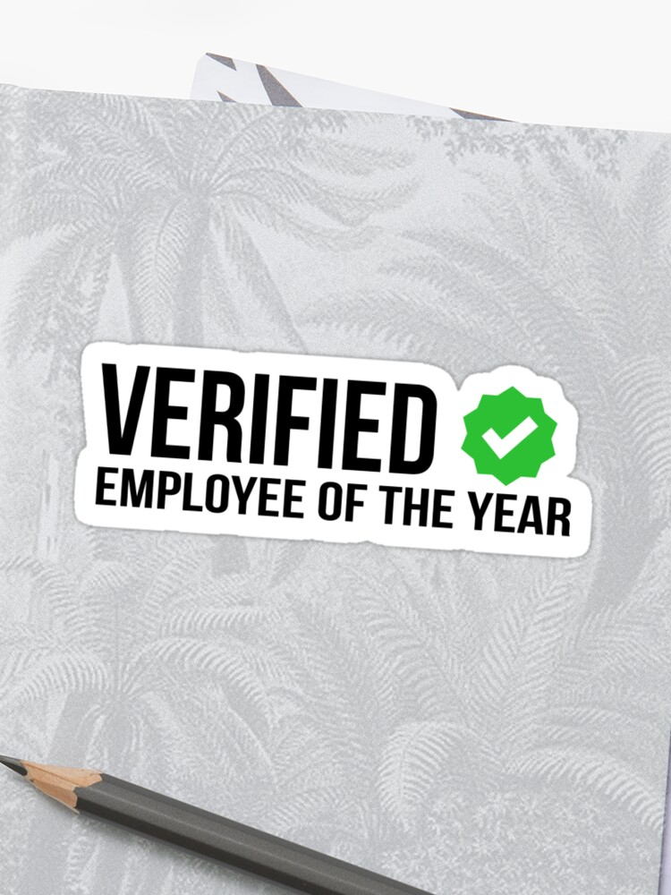 Employee stickers , Employee of the year , Employee gifts , Employee  appreciation day , employee of the month | Sticker