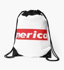 Merica Words Millennials Use Drawstring Bag