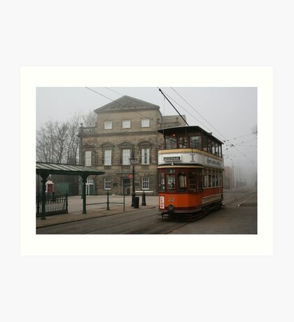 Glasgow Tramcar No 22 Art Print