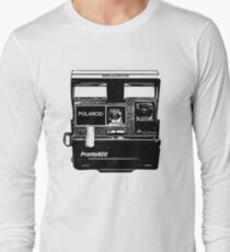 Old Polaroid Camera Long Sleeve T-Shirt