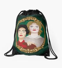 The Hudson sisters Drawstring Bag
