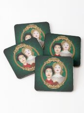 The Hudson sisters Coasters