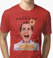 American Psycho's Cereal Tri-blend T-Shirt