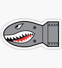 Shark Bomb Sticker