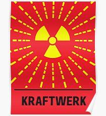 Kraftwerk Radioaktivität Poster