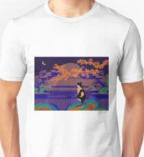 Blue Forbidden City Unisex T-Shirt