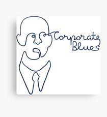 Corporate Blues Canvas Print