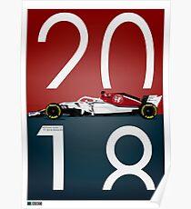 Sauber Alfa C37 Poster