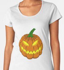 Spooky Pumpkin Premium Scoop T-Shirt