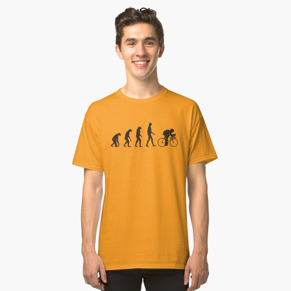 Evolution Cycling Classic T-Shirt Front