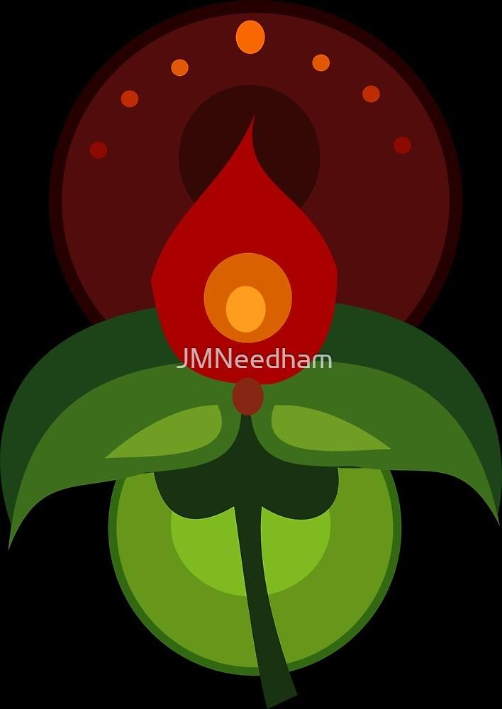 Stylized Flower Motif by JMNeedham