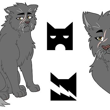Yellowfang sticker set  by deepfriedmeme