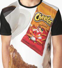 Coffee Cheetos Chicken Graphic T-Shirt