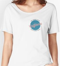 We Grew Here, You Flew Here California Women's Relaxed Fit T-Shirt