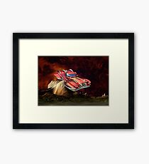 Space Vehicle  Framed Print