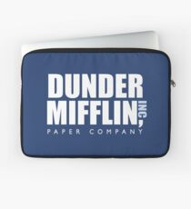 Dunder Mifflin The Office Logo Laptop Sleeve