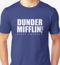 Camiseta unisex Dunder Mifflin The Office Logotipo