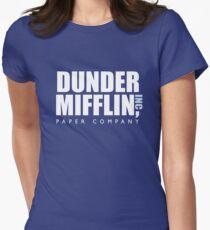 Camiseta entallada para mujer Dunder Mifflin The Office Logotipo