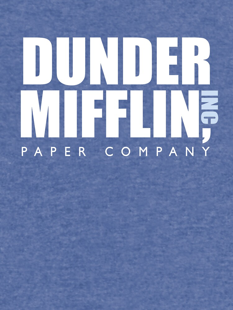 Dunder Mifflin The Office Logo by caseyward
