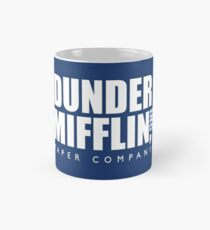 Dunder Mifflin The Office Logo Mug