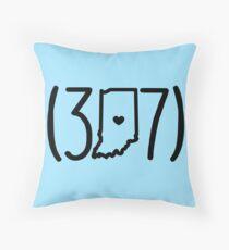 317- Indianapolis Throw Pillow