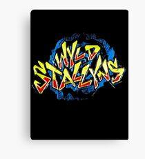 Wild Stallyns Canvas Print