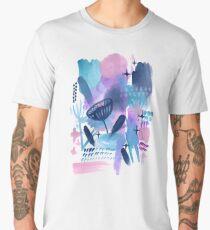Abstract - Pink Sky At Night Men's Premium T-Shirt