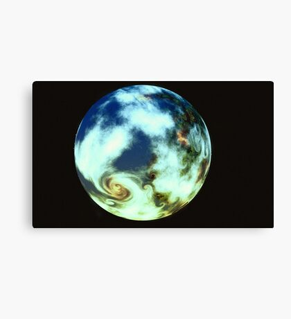 Storm World Canvas Print