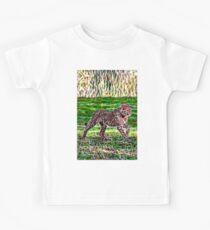 Jungtier Spaziergang Kinder T-Shirt