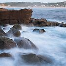 The Rocky Sea at Avoca by Mike Salway