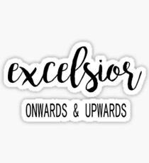 Excelsior Sticker