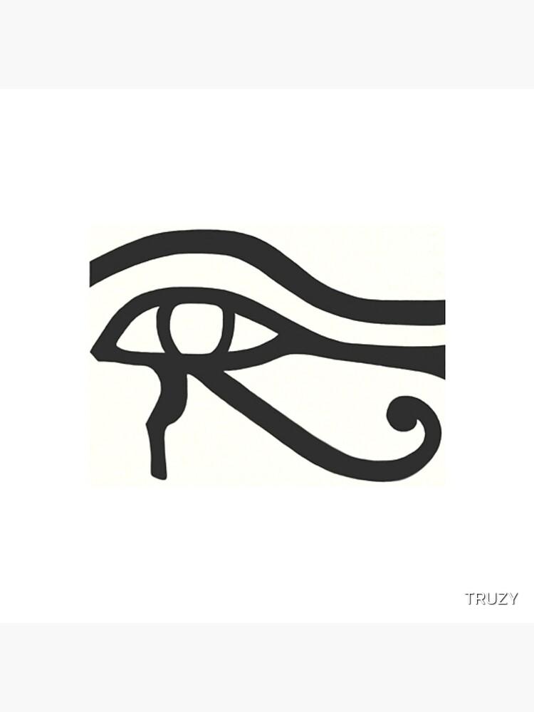 Auge Heru durch TRUZY von TRUZY