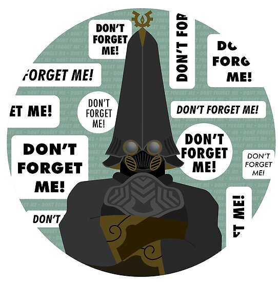 Dont Forget Me Posters By Michaela Warthen Redbubble