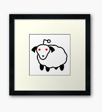 Reddit Alien: Sheep  Framed Print